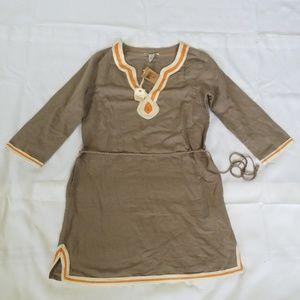 Lucky Brand Linen Dress Medium NWT